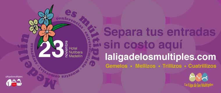 Celebra con nostros en Medellin